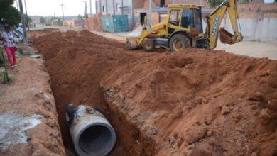 Photo of Tubulações em construção nos bairros Cohab/Florença vão evitar alagamentos e erosão