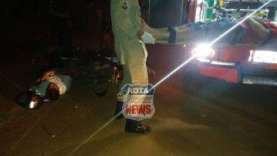 Photo of Colisão entre motocicletas deixa três feridos no Setor 08 em Vilhena