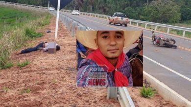 Photo of Motociclista morre ao bater em guard rail na 4ª Eixo em Cerejeiras