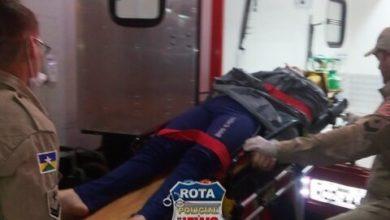 Photo of Colisão entre carro e bicicleta deixa mulher ferida no 5ºBEC em Vilhena