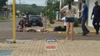Photo of Três feridos em acidente de trânsito no Centro