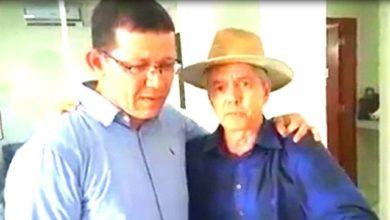Foto de Emocionado, candidato ao governo pelo PSL, Coronel Marcos Rocha pede perdão e faz as pazes com Jaime Bagattoli