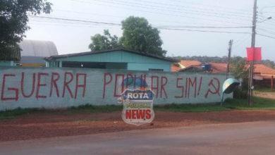 Photo of Escola no distrito de Guaporé é pichada durante a madrugada e Polícia Militar é acionada