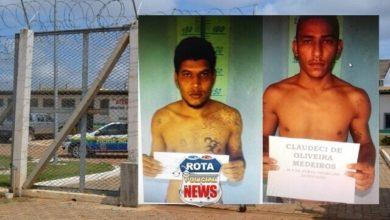 Foto de Dois detentos fogem após serrarem grades de cela no presídio Cone Sul, em Vilhena