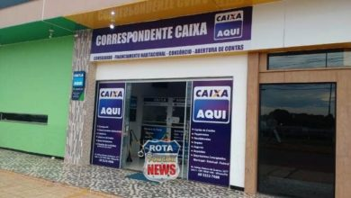 Photo of Ladrões armados levam R$ 2.500  em roubo a agência correspondente da Caixa na frente do Park Shopping Vilhena