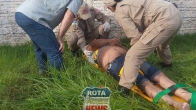Photo of Motociclista desmaia após colisão com carro no bairro BNH
