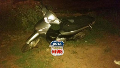Photo of Duas motocicletas envolvem-se em acidente na BR-174 no Bela Vista