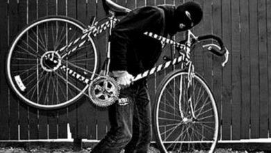 Photo of Câmeras de segurança flagram furto de bicicleta em posto de molas no Bodanese