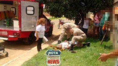 Photo of Idoso convulsiona em via pública e é socorrido, vítima não foi identificada