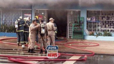 Photo of Corpo de Bombeiros aponta que incêndio atingiu 20% do estoque de materiais da Diságua