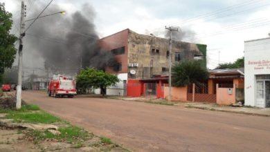 Photo of Prédio da Polícia de Fronteira pega fogo em Guajará-Mirim