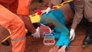 Photo of Motociclista fica em estado grave após colidir contra carreta no bairro Bodanese