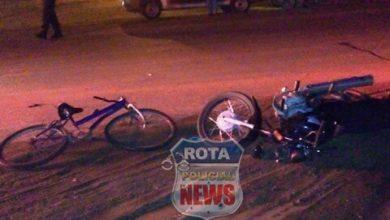 Foto de Ciclista que se envolveu em grave acidente na noite de ontem, morre no Hospital Regional