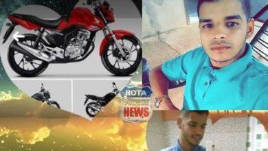 Photo of Jovem que se envolveu em acidente na BR-174 próximo ao aeroporto teve motocicleta furtada