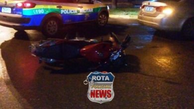 Photo of Casal fica ferido após colisão entre carro e motocicleta no Jardim América e mulher não consegue se mexer
