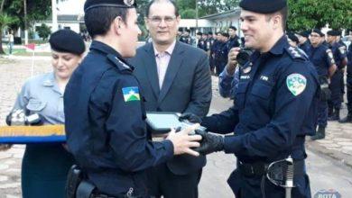 Photo of Vereador Sargento Suchi participa da solenidade de passagem de comando do 3ºBPM