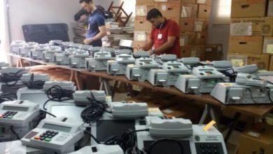Foto de Vilhena: 262 urnas eletrônicas estão sendo preparadas para as eleições gerais