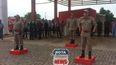 Photo of Troca de comando do 1ºSubgrupamento do Corpo de Bombeiros de Vilhena é realizada com cerimonial