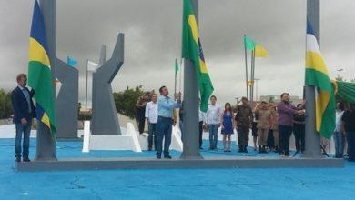Photo of Em comemoração ao 41º Aniversário de Vilhena, ato cívico reúne militares das forças armadas e autoridades