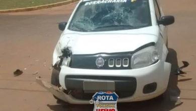 Foto de Motociclista sofre diversos ferimentos após colisão no Bodanese