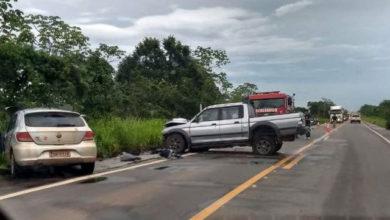 Photo of Urgente: Grave colisão na BR- 364 deixa duas vítimas fatais