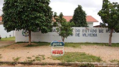 Foto de Prédio da Defensoria Pública de Vilhena é alvo de ladrões e diversos objetos são furtados