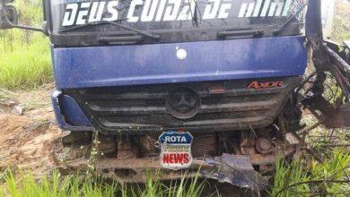 """Photo of Acidente na serra de São Lourenço na BR-364 envolve carretas e motorista relata: """"hoje eu vi a morte de frente"""""""