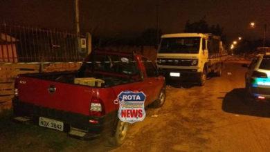 Photo of Polícia Militar chega durante assalto, recupera caminhão e camionete roubados e prende um dos ladrões em Vilhena
