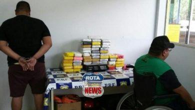 Photo of PRF apreende 54 quilos de pasta base de cocaína em veículo e R$ 12 mil em espécie, dirigido por cadeirante em Vilhena