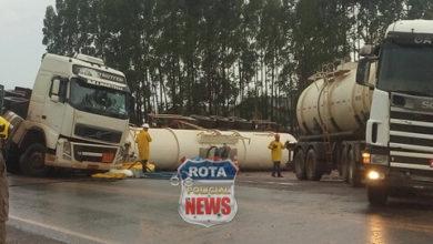 Photo of BR-364: após carreta com 60 mil litros de álcool tombar, rodovia continuará interditada em Vilhena até quinta-feira