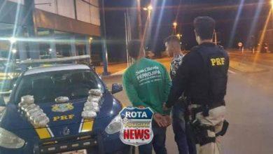 Photo of Em Vilhena, PRF apreende mais de 15 quilos de cocaína e prende duas pessoas