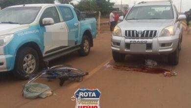 Foto de Idoso morre ao ser atingido por camionete na BR-174, motorista evadiu-se do local