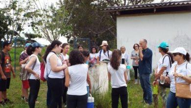 Photo of Alunos são guiados pela Fundação Cultural em passeio histórico por trilha do antigo posto telegráfico