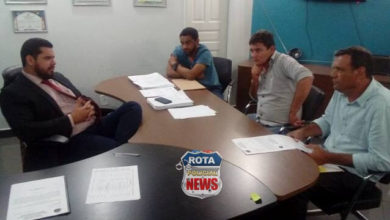 Foto de Vereador Sargento Suchi visita gabinete do deputado estadual Jean Oliveira em busca de recursos para Vilhena