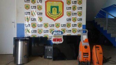 Photo of Radiopatrulha recupera televisores e objetos furtados em Vilhena