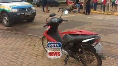 Photo of Motorista de picape avança preferencial e atinge motoneta no Jardim Eldorado, uma pessoa ficou ferida