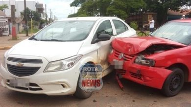 Photo of Polícia Militar registra colisão entre veículos no Jardim Eldorado