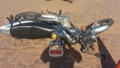 Photo of Motociclista sofre fratura exposta na perna em grave acidente envolvendo motocicletas na BR-364 em Vilhena