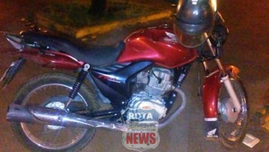 Photo of Motociclista com sinais de embriaguez atinge veículo em semáforo da avenida Paraná