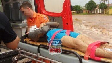 Photo of Motociclista sofre fratura após atingir carro e carreta no Jardim Araucária em Vilhena