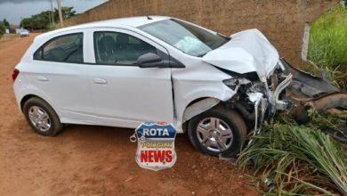 Photo of Motorista perde controle e atinge muro de residencial no bairro Alto dos Parecis