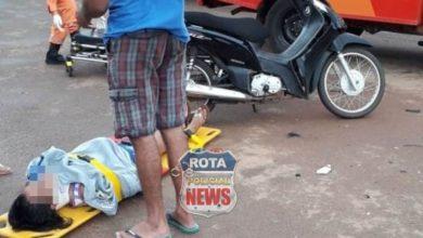 Photo of Motociclista sofre ferimentos após colisão contra camionete no bairro Marcos Freire