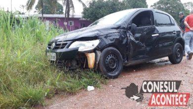 Photo of Táxi de Colorado se envolve em acidente nesta tarde de sábado, colisão ocorreu na BR-435
