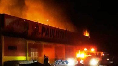 Photo of Urgente: Supermercado Paulista em Colorado do Oeste é consumido por incêndio