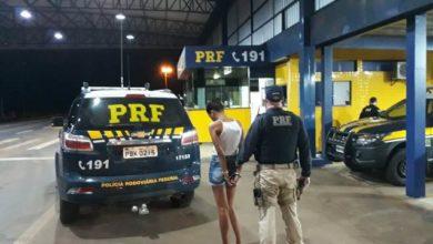 Photo of Em Vilhena, Polícia Rodoviária Federal prende mulher com 3,5 quilogramas de Cocaína