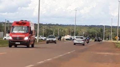 Photo of Acidente de trânsito entre carro e moto deixa um ferido na BR-174
