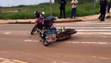 Photo of Colisão entre motoneta e moto de mototáxista deixa feridos no Jardim das Oliveiras