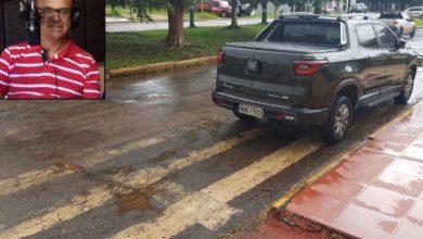 Photo of Mais um nas infrações de trânsito: radialista é pego com carro estacionado sob faixa de pedestre em Vilhena