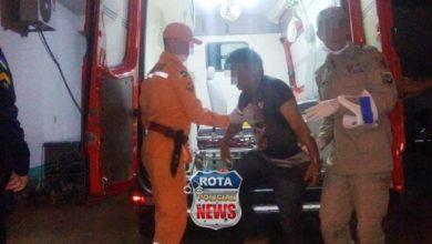 Photo of Motociclista embriagado cai sozinho, é hospitalizado e acaba preso pela Polícia Militar