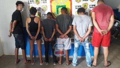 Photo of Rádiopatrulhas com apoio do PATAMO prendem seis com simulacro de arma de fogo e celular roubado